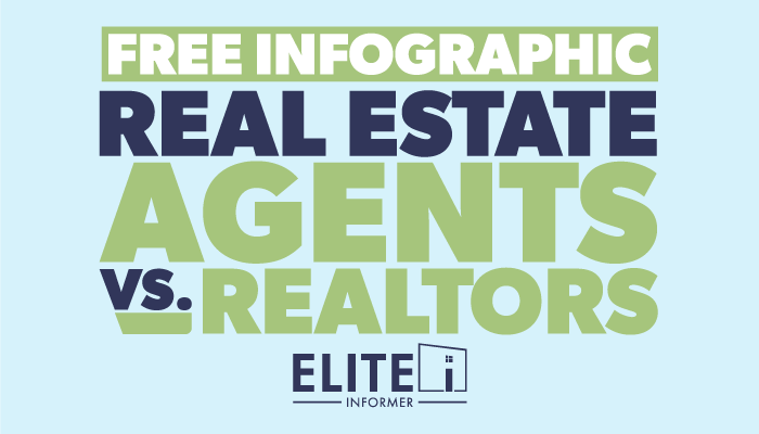 FREE Infographic - Real Estate Agents vs. Realtors