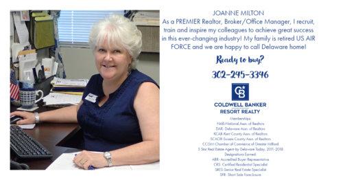 Joanne Milton Milford De Real Estate My Post