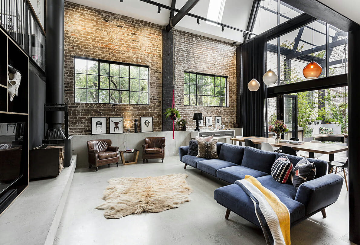 Industrial Interior Design 10 Best Tips For Mastering Your Rustic Industrial Decor Style My Az Realty Team