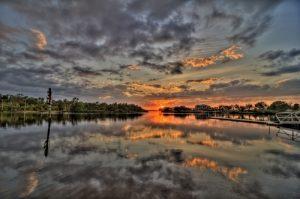 Ft Hamer Sunset, Bradenton, Manatee County, FL